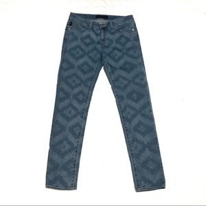 Rock and Republic Patterned Denim